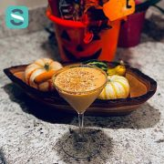 Pumpkin Pie Martini -Fall Cocktail Recipe