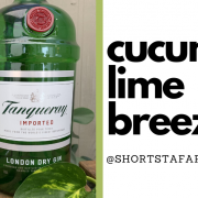 Cucumber Lime Breeze Cocktail